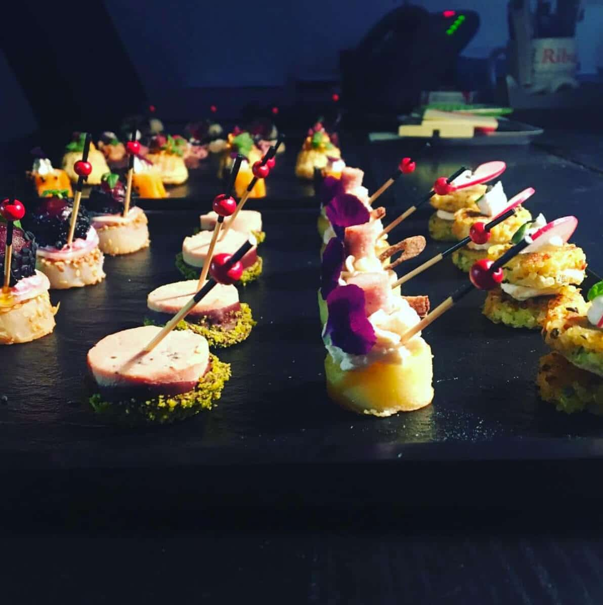 Finger food, private chef miami